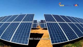 delhi airport enhances capacity of india s 1st solar power plant