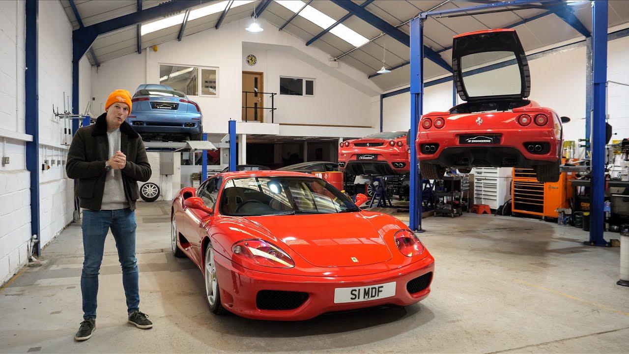 Incredible 'Carbon' Brake Upgrade For My Ferrari 360