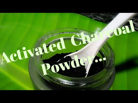 how to make activated charcoal at home youtube