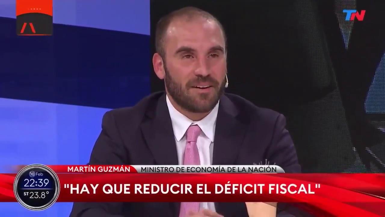 GUZMÁN HIZO QUE TN RECONOCIERA LA DEUDA DE MACRI