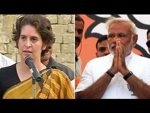 In Amethi: Modi vs Priyanka