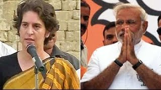 In Amethi: Modi vs Priyanka
