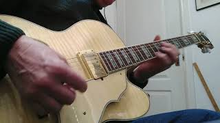 Sonuus G2M v3 Guitar to Midi with Ibanez Artcore AF105 - Improvisation demonstration