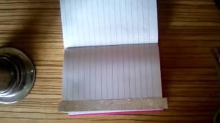 одна обычная дневниковая запись / как я оформляю обычную дневниковую запись в личном дневнике
