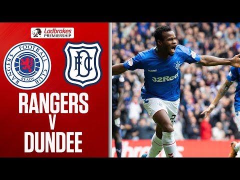 Rangers 4-0 Dundee | Rangers hit Dee for four!  | Ladbrokes Premiership