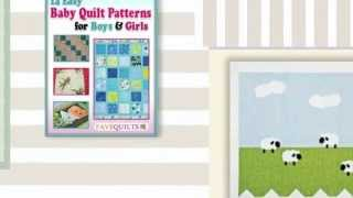 """14 Easy Baby Quilt Patterns For Boys And Girls"" Ebook"