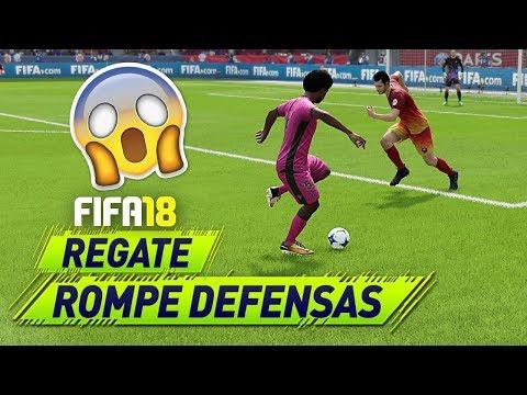 INCREÍBLE REGATE Para ROMPER DEFENSAS En FIFA 18!!!