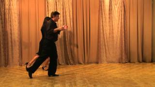 "Argentine Tango Beginner Level ""Common Basic"" Lesson 1"