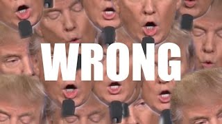 """Wrong, Wrong, Wrong."" Donald Trump's Interruptions At The First Presidential Debate."