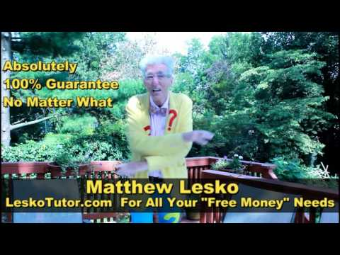 """America's #1 """"Free Money"""" Researcher For Business, Expenses,  Housing  or Education"""