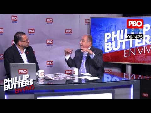 Phillip Butters - En Vivo 09 Ene. 2019- Entrevista a Ántero Florez - Aráoz
