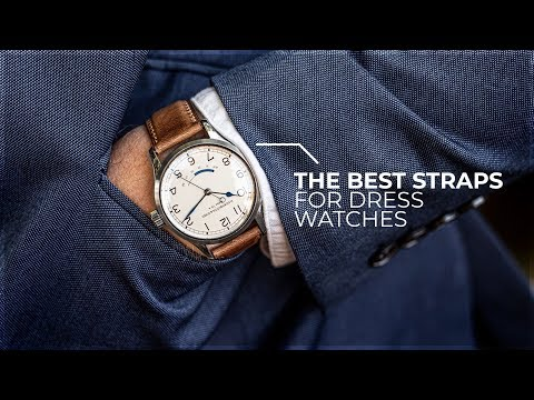Are These The Best Straps For Dress Watches? - Strap Showcase Ft. Dornblüth & Sohn By WatchGecko