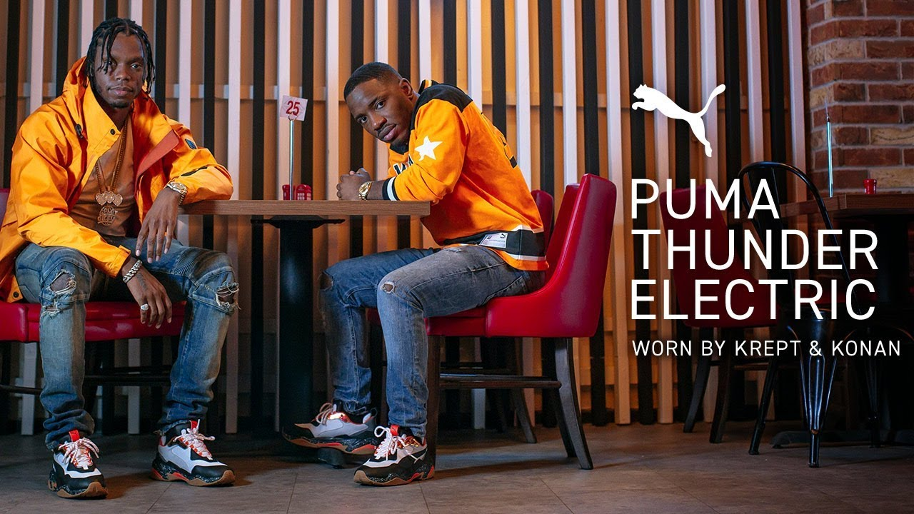 Puma Thunder Electric ft Krept and Konan
