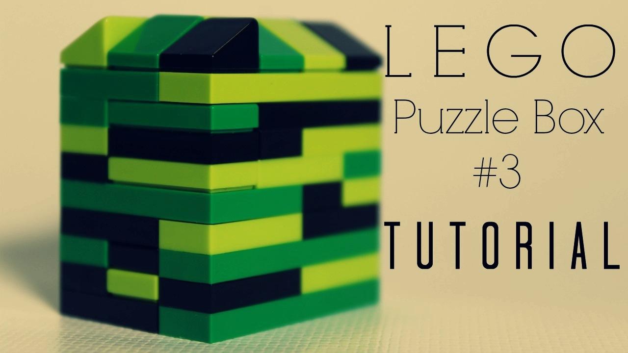 Lego Puzzle Box Tutorial 3 Pocket Sized Film Made By Snazzynaz