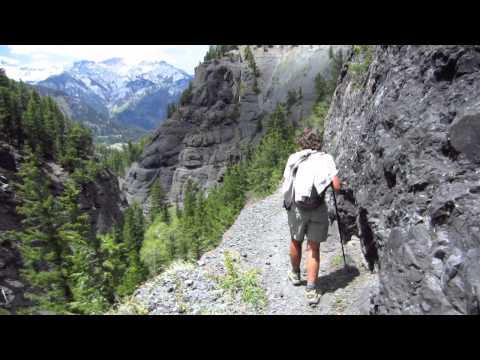 Hikes around Ouray, Colorado... a video perspective