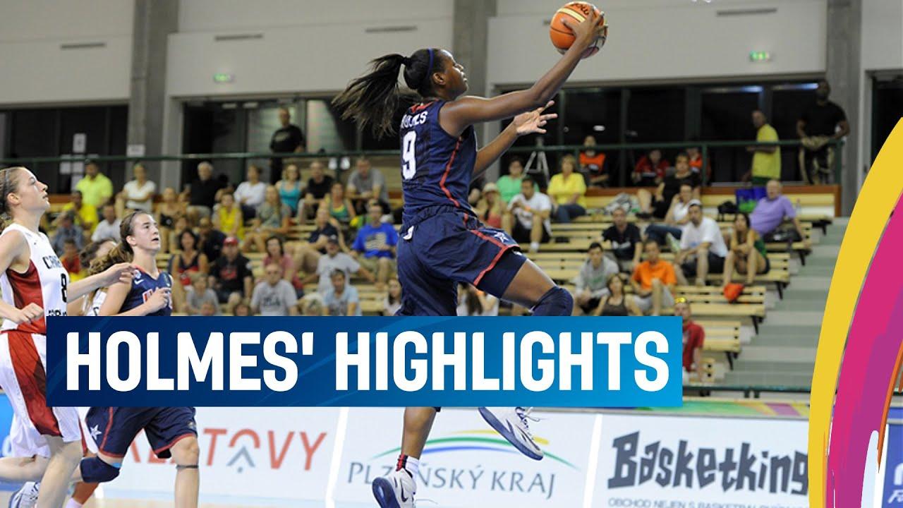 Holmes' highlights - All-Tournament-Team