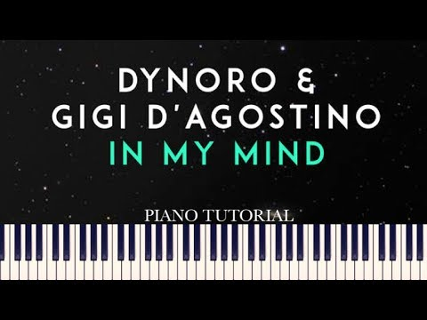 Dynoro & Gigi D&39;Agostino - In My Mind Piano Tutorial + Sheets