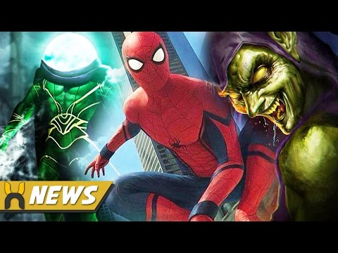 Spider-Man Homecoming Three Villains Revealed & MAJOR Character Appearance