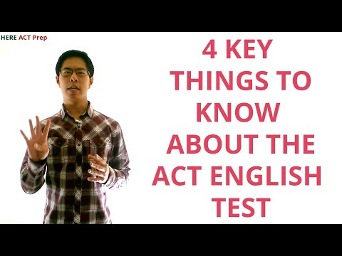 Best ACT English Prep Strategies, Tips, and Tricks - 4 Key Things to Know About the ACT English Test