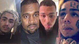 ВИДЕО РЕАКЦИЯ РЕПЕРОВ О СМЕРТИ XXXTentacion! Lil Pump, 6ix9ine, Kanye West, J Cole и другие!