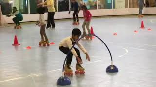 Kavin skates 1st level