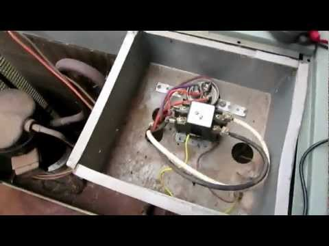 AC not starting up - Air Conditioner condensing unit lost po