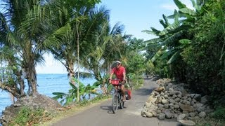 Cycling in Indonesia, Sulawesi (Celebes), short version