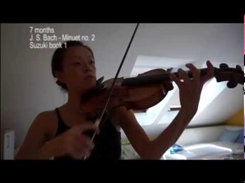 Adult beginner violin progress 1 year