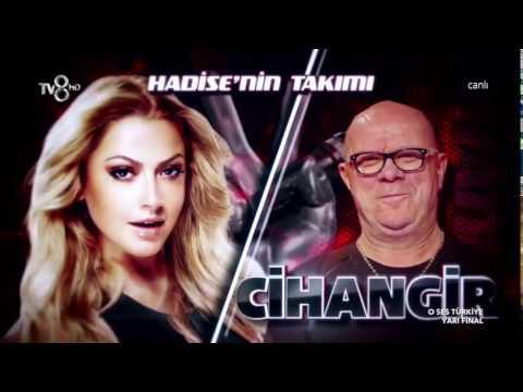 Cihangir Boralı O Ses Türkiye Yarı Final Performansı/HD/16.03.2017