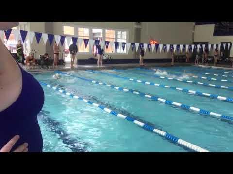Lydia P - 50 Free - Illinois Quad Meet 2017
