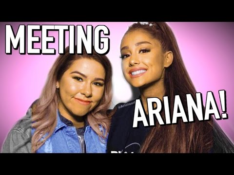 What meeting Ariana Grande is REALLY like 😙🐰 Meet and Greet 2017!