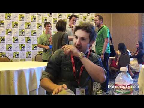 Sam Huntington Being Human ComicCon 2011