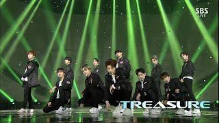 Gambar cover TREASURE – '음 (MMM)' 1129 SBS Inkigayo