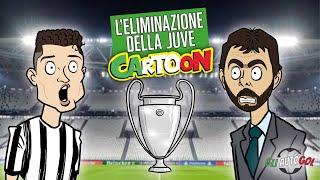 AUTOGOL CARTOON - Juve fuori dalla Champions
