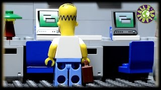 Lego Simpsons Office.  If Homer Simpson worked in office.