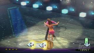 Dancing With The Stars Nintendo Wii Gameplay - Dancing Queen