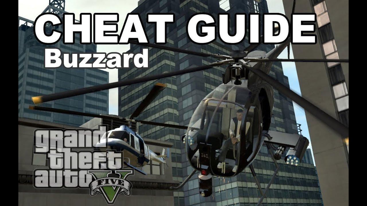 Gta V Cheat Buzzard - Youtube-8322