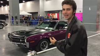 2018 Miami Auto Expo - Classic Section - AMC AMX