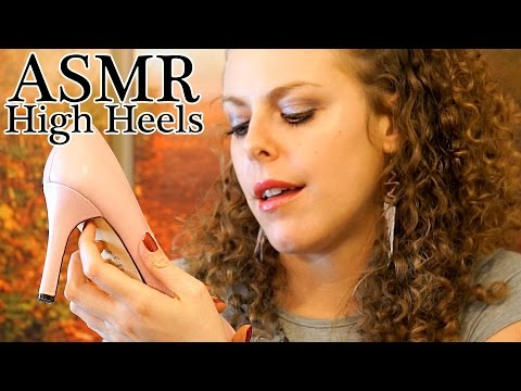 ASMR High Heel Shoes Tingles #2 - Whisper, Tapping, Scratching ASMR Triggers