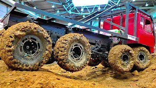 STUNNING RC OFF-ROAD TRUCKS IN THE MUD TATRA  8X8 8WD RC MODELS AT HARD WORK AND IN MOTION