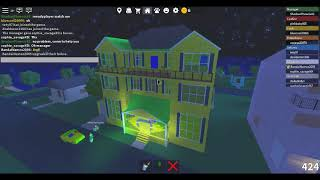 Roblox Work at a Pizza Place Upgrading my house to mansion
