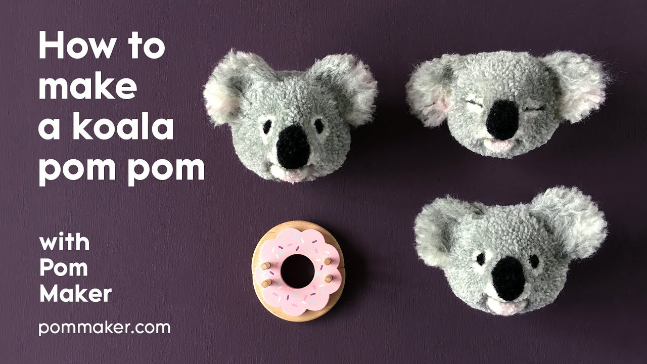 Fabriquer un koala pompon