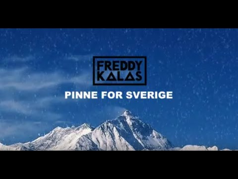 Freddy Kalas - Pinne For Sverige (Svensk Lyric Video)