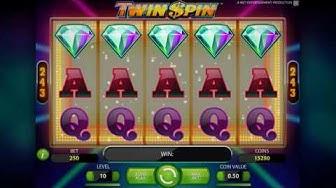Twin Spin -kolikkopelin esittelyvideo - HUIKEA VOITTO!