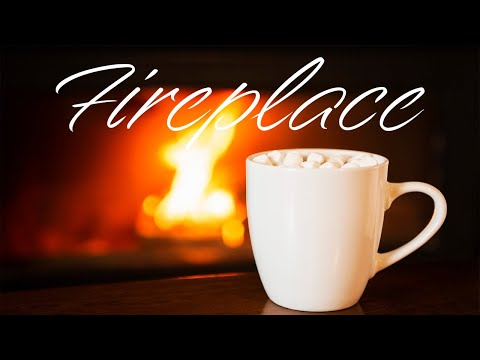 Smooth JAZZ & Fireplace - Relaxing Instrumental JAZZ & Bossa Nova - Chill Out Music