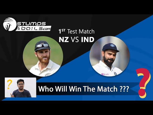 New Zealand vs India 1st Test Match Prediction| Todays Match Prediction| Who Will Win | IND vs NZ