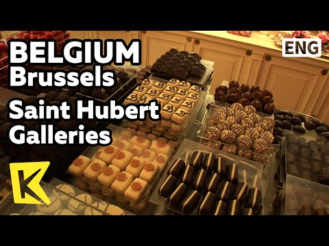 【K】Belgium Travel-Brussels[벨기에 여행-브뤼셀]성 유배흐 갤러리/Saint Hubert Galleries/Neuhaus/Chocolate/Store/Tea