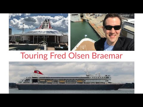 Fred Olsen Braemar Cruise Ship - Full tour (1080 HD)