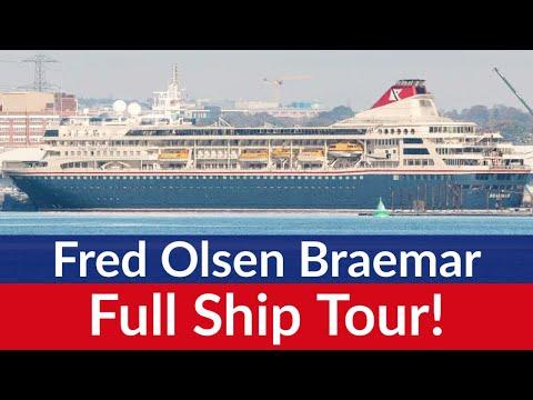 Fred Olsen Braemar Cruise Ship - Full tour (1080 HD)