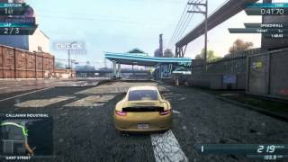 Need For Speed Most Wanted 2012 - Porsche 911 Carrera S - All Races